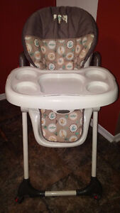 Baby Trend Slim Fold High Chair - Unisex, Folds,Heights,Harness,