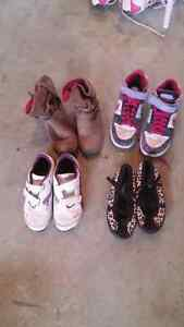 Various girls shoes $8.00 for all!