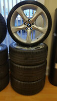 BMW 335 OEM Rims with Michelin Pilot Super Sports 90%