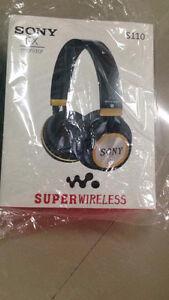 sony s110 wireless bluetooth headphone