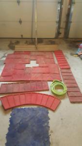 Stamp concrete mats (10)