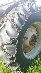 Tire Chains for 18.4-34 Tractor Tire - Mint Cond. $300 ea.Set