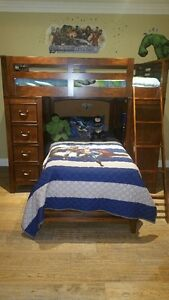 Bunk Bed Set with New Mattresses