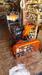 Snow blower /trade for a.t.v
