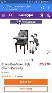 Graco DuoDiner Caraway high chair, mint condition