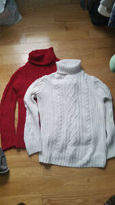 Sweaters (XL and Large)
