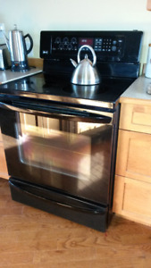 LG CONVECTION OVEN BAKE/ROAST 5 BURNERS STAINLESS STEEL BLACK