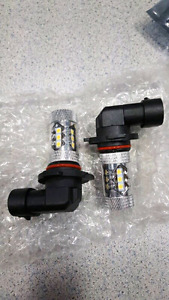 Dodge Challenger L.E.D. Fog Light Bulbs - 2000 LUMENS