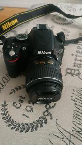 Camera nikon d5100 avec objectif