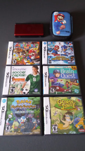 Nintendo DS avec jeux