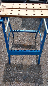 Saw horse stand