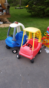 Little Tikes Push Cars, Wagon and lots of other outdoor toys