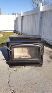 High efficiency Regency wood stove