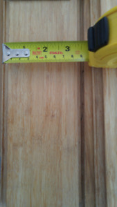 PREFINISHED NATURAL BAMBOO FLOORING FOR SALE