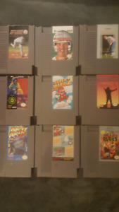 Nes nintendo and 18 games