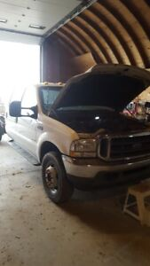 Parting out Ford F-550 Pickup Truck