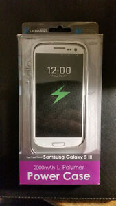 Brand new External Battery case (juicebox) for Samsung s3