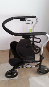 Rollator Medical Folding Walker with Wheels and Padded Seat Windsor Region Ontario image 6