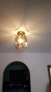 Two marvelous light fixtures in EXCELLENT condition
