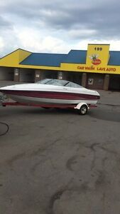 1995 21' chris craft cuddy ...7,800