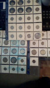 Canadian silver coins - rare - old and exciting!