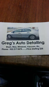 GREG'S AUTO DETAILING