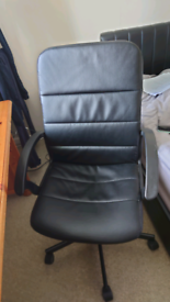 Office desk lever operator chair