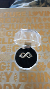 Infinity 925 Silver ring size 7