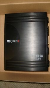 MB Quart 240w 2 Channel Amplifier.