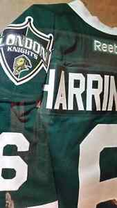 LONDON KNIGHTS GAME WORN JERSEY....FOR SALE / TRADE! London Ontario image 2
