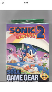 Brand New Factory Sealed Sonic The Hedgehog 2 Game Gear