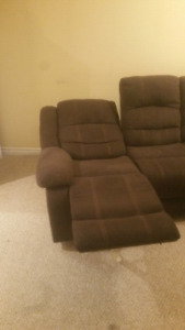1 year old power recliner