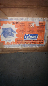 Coleman camping stove for sale