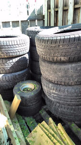 Numerous used tires for sale