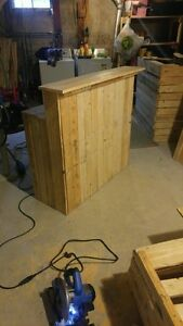 Homemade Bar (inside or outside) - can be stained for add'l fee