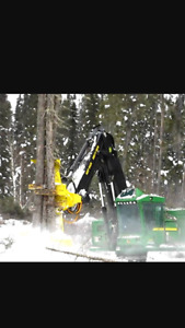 Skidder buncher limber looking for lots to cut