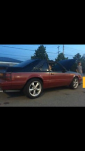 1986 Ford Mustang GT Coupe (2 door)