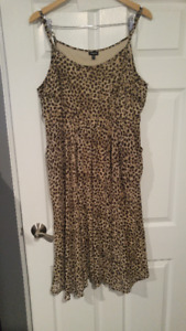 """Torrid"" Brand, Animal Print Dress, Plus Size 1"