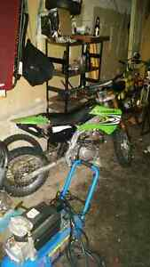 150cc Baja DRX trade for ebike emmo or