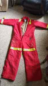 Actionwest fr lined coveralls