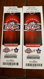 2 tickets for IceCaps vs Marlies Friday, January 27th