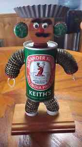 Folk art Beer Man