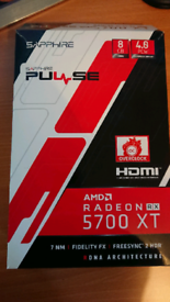 SAPPHIRE PULSE RX 5700XT AMD RADEON - TRADES ONLY