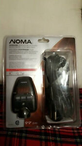 Noma outdoor temperature activated cord with timer