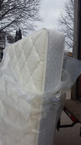 Queen size mattress and box spring 200.00, VERY CLEAN