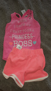 BNWT- BABY GIRL OUTFITS 12-18 MONTHS upto 3T