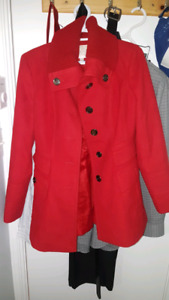 Red Jessica Simpson Coat