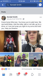 Missing 16 year old human