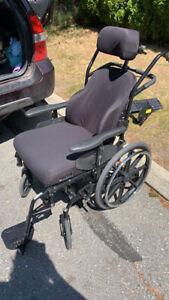 Orion II tilt wheelchair