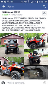 2014 CanAm 500 for sale asking $8500